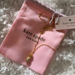 Brand new Kate Spade pineapple necklace